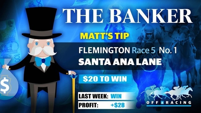 Off & Racing with The Banker - November 7