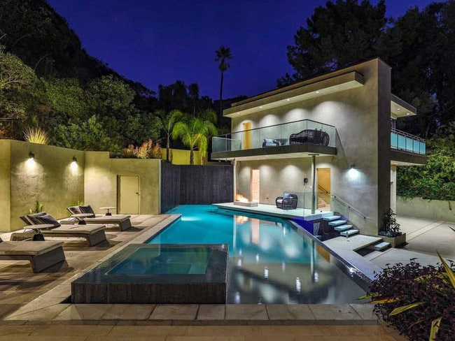 Can take a dip at day or night. Picture: Realtor.
