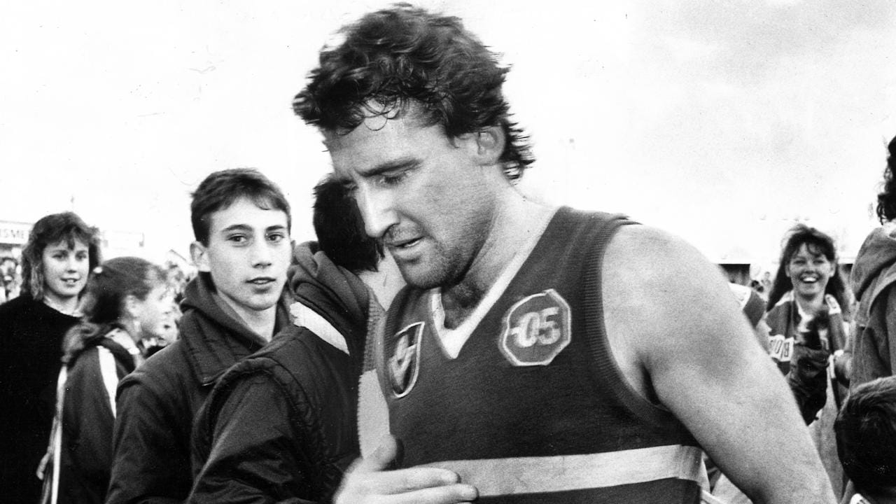 Doug Hawkins has played the third-most games in Footscray's history.