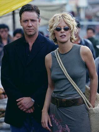 Russell Crowe and Meg Ryan in Proof of Life.