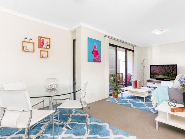 One of the apartments above the shop at 17 O'Brien St, Bondi Beach.