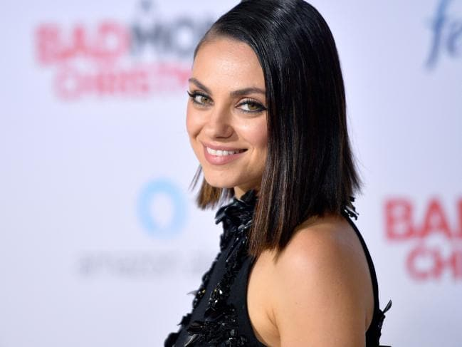 Ukraine, the birthplace of Mila Kunis, topped the list, and we can see why. Picture: Matt Winkelmeyer/Getty Images/AFP