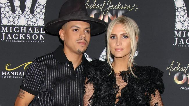 Evan Ross and Ashlee Simpson's new show premieres on September 11. Picture: PRN/PRPhotos.com/Mega