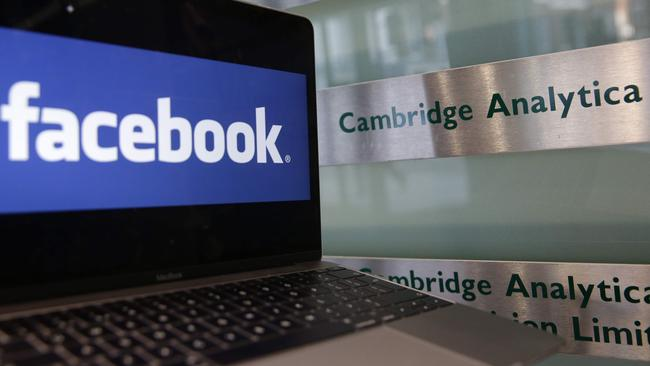 Data firm Cambridge Analytica is at the heart of Facebook's biggest scandal to date. Picture: AFP / Daniel Leal-Olivas
