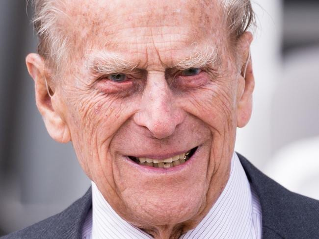 Prince Philip on Wednesday. Picture: Jeff Spicer/Getty Images