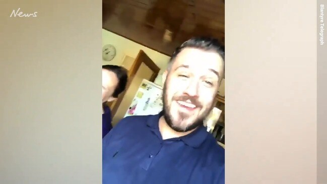 Video shows drunk man's epic mistake
