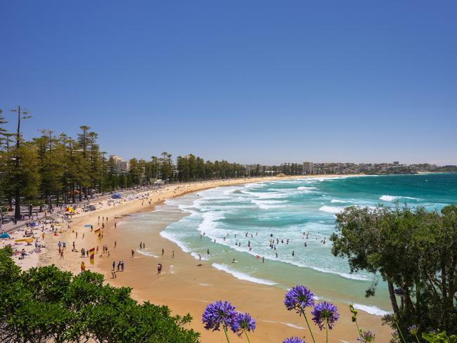 Manly Beach has been named the nation's best beach.