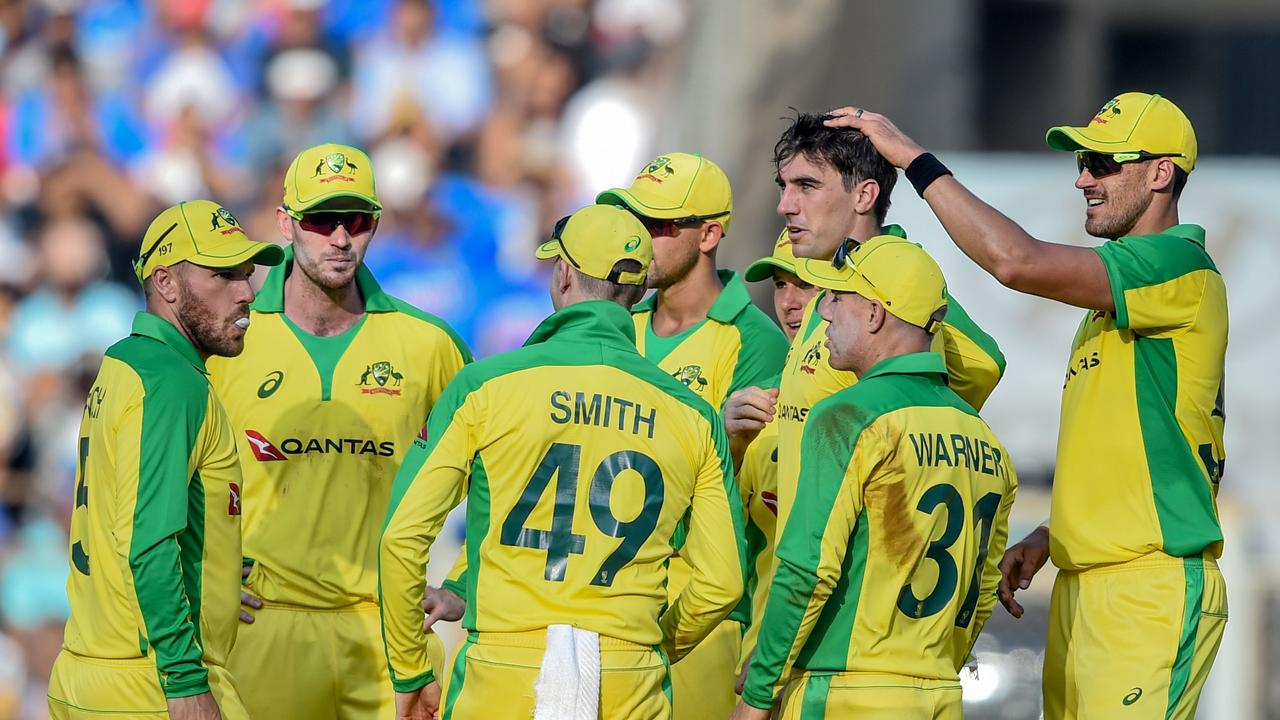 Australia fought bat to bowl India out for 255.