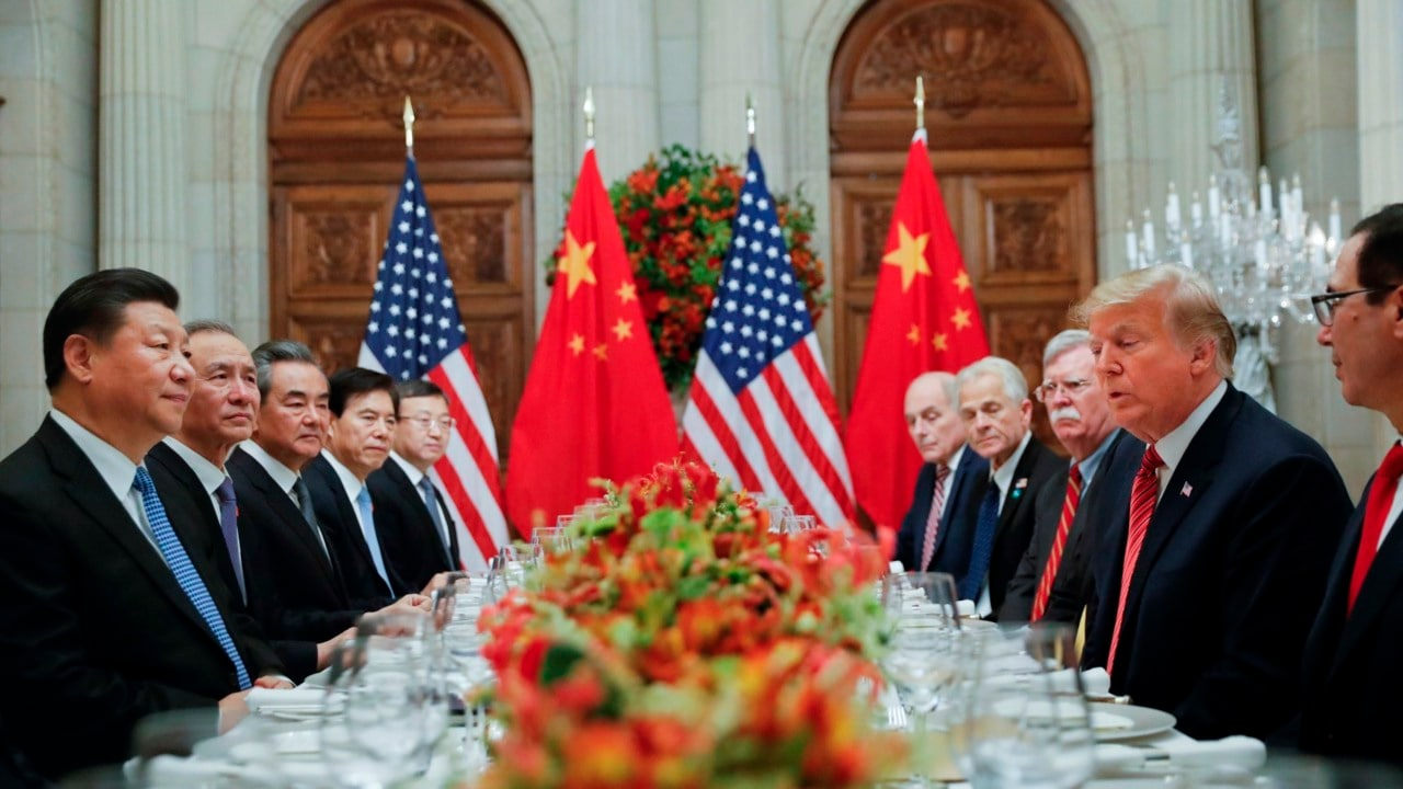 Image result for xi and trump g20