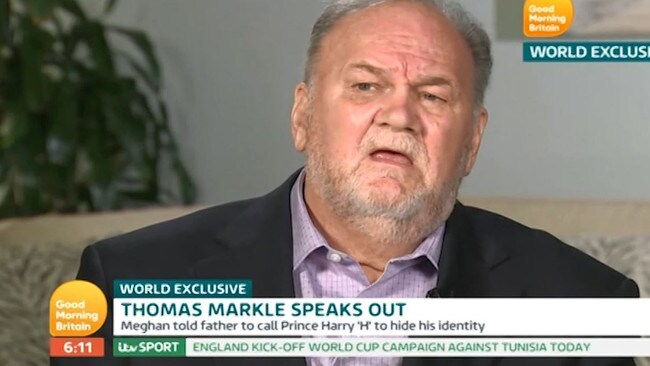 "Thomas Markle hopes the pregnancy can ""fix the problems"" between him and the couple"
