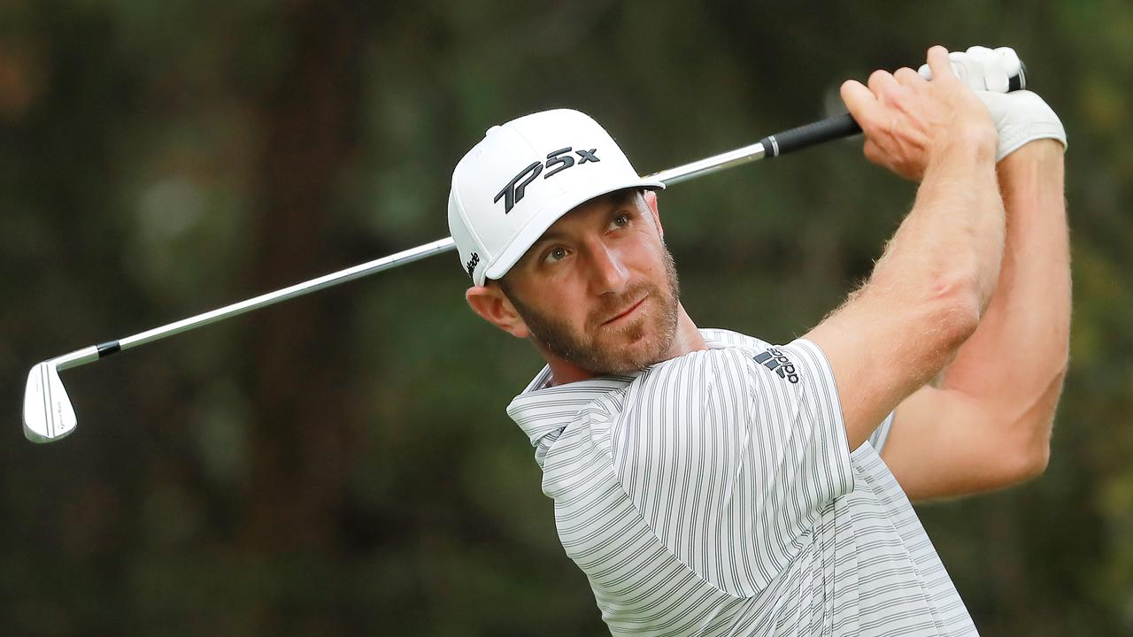 Dustin Johnson will defend a four-shot lead in the final round of the WGC-Mexico Championship.