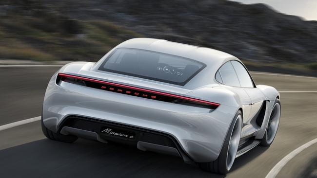 Porsche Taycan will arrive in Australia in 2020.