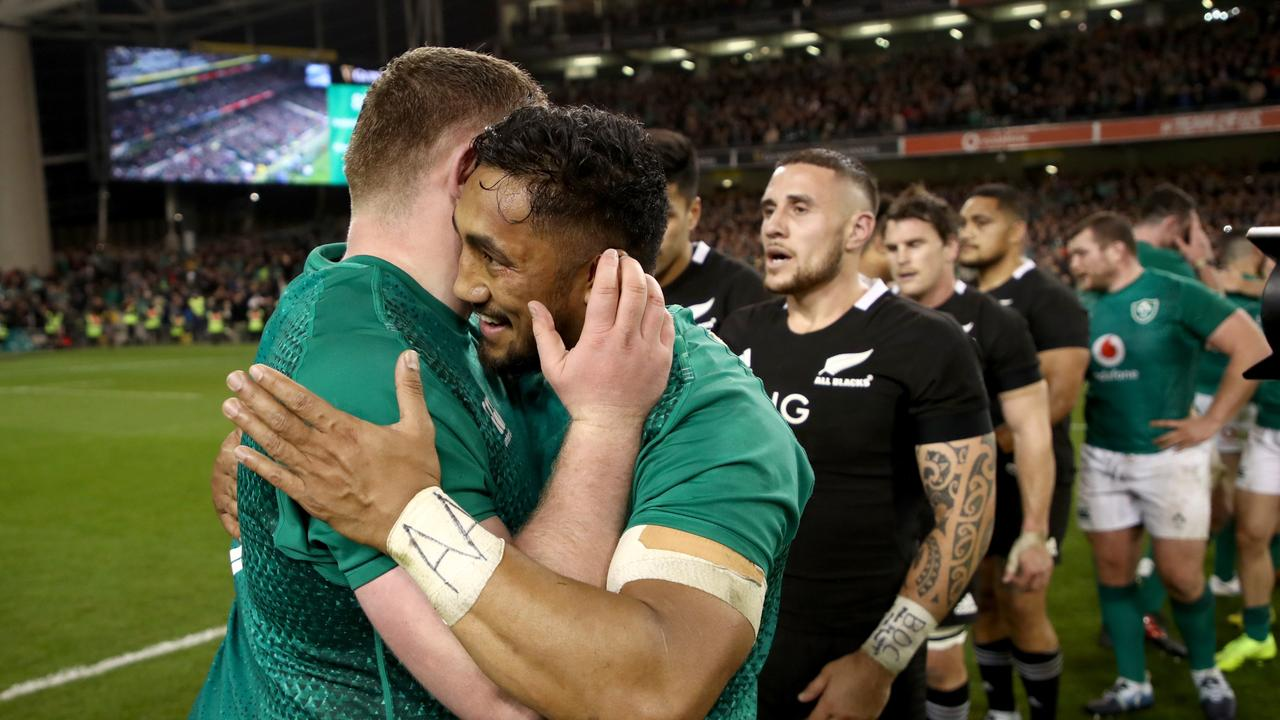 Ireland were forced to make 84 more tackles than New Zealand in the final 20 minutes.