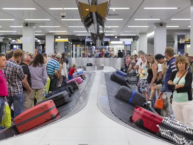If your bag is in really bad shape when it's returned to you at the airport, you will have a case against the airline. Picture: Getty Images