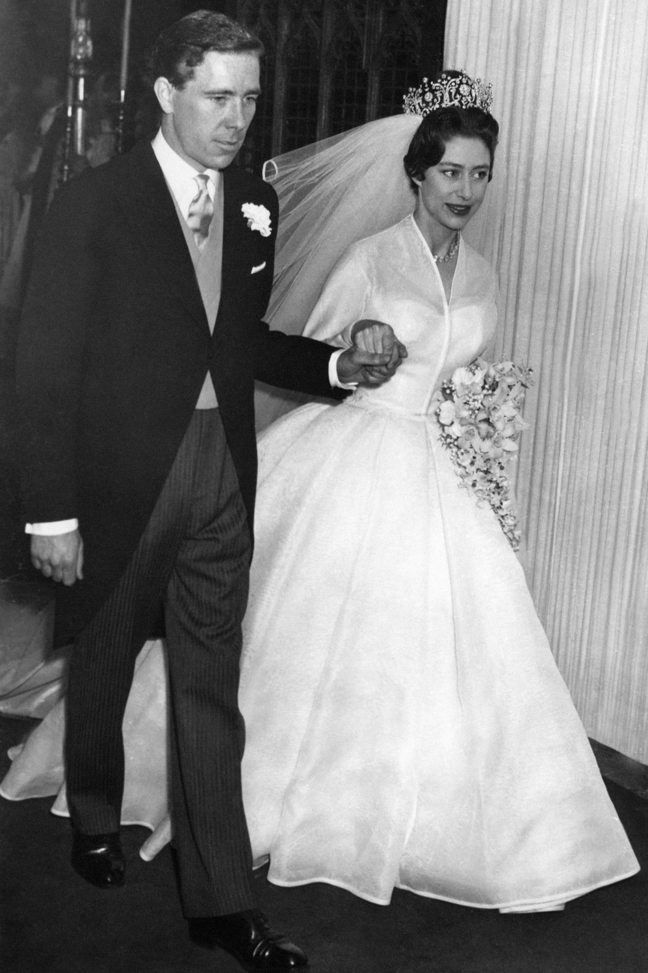 Inside Princess Margaret and Antony Armstrong-Jones's 1960 wedding
