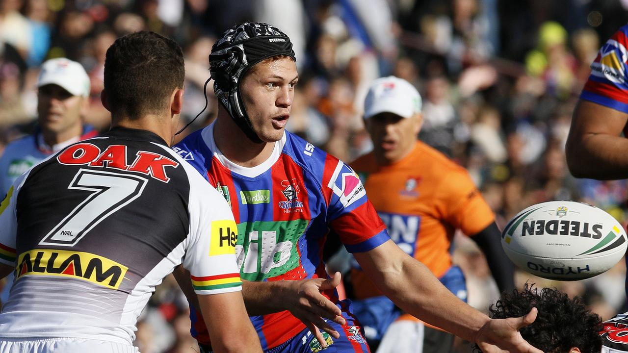 Kalyn Ponga was a nightmare for opposition defences this season and a godsend for the Novocastrians. (AAP Image/Darren Pateman)
