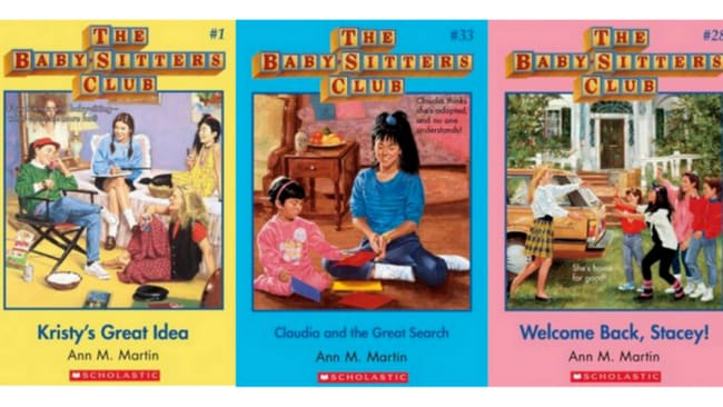 Good, wholesome times Photo: Baby-sitters Club