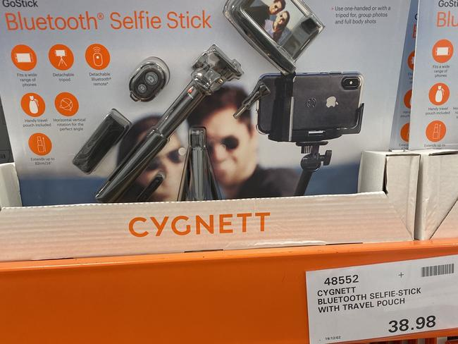 Cygnett Bluetooth selfie stick: $38.98.