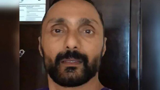 Rahul Bose posted a video about being charged $9 for two bananas. Picture: Rahul Bose/Twitter
