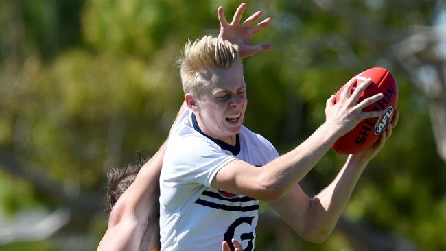 Geelong rookie Zach Guthrie. Picture: Sam Wundke