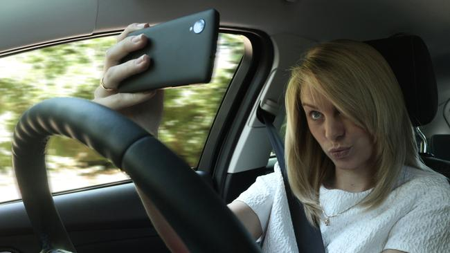 Mobile phone use is another major distraction which comes with heavy fines and the loss of demerit points.