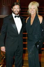 At the Bone Marrow Donor Institute Red Ball at Crown Casino in 2004. Picture: Tim Carrafa