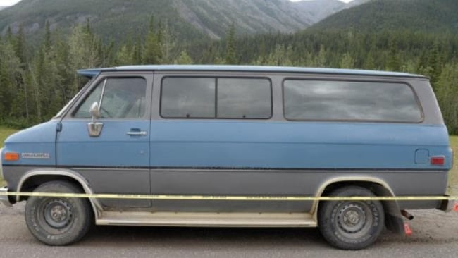 Their van broke down on the Alaska Highway in the far north of British Columbia. Image: Supplied