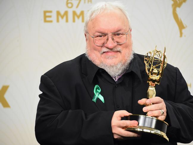 George R. R. Martin. Picture: Jason Merritt / GETTY IMAGES NORTH AMERICA / AFP.