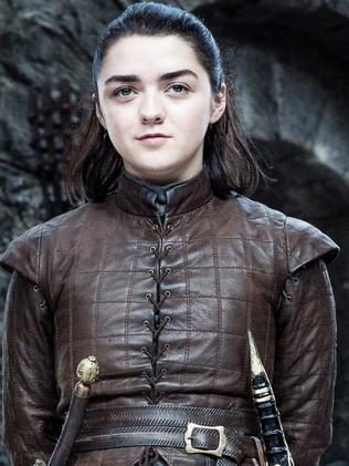 Maisie Williams as Arya Stark. Picture: HBO