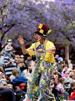 Clowning Around. Photo Naomi Jellicoe