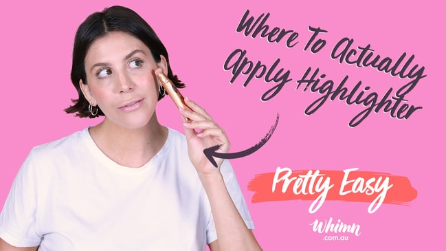 Pretty Easy: Where To Actually Apply Highlighter