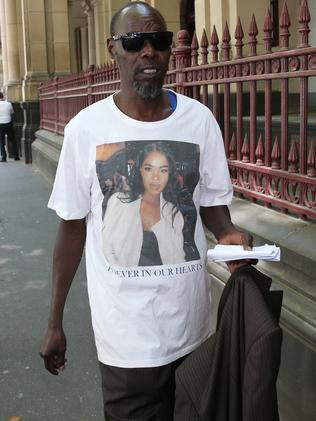 Laa Chol's dad. Picture: David Crosling