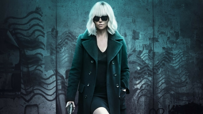 Charlize in her badass 'Atomic Blonde' costume. Photo: Universal