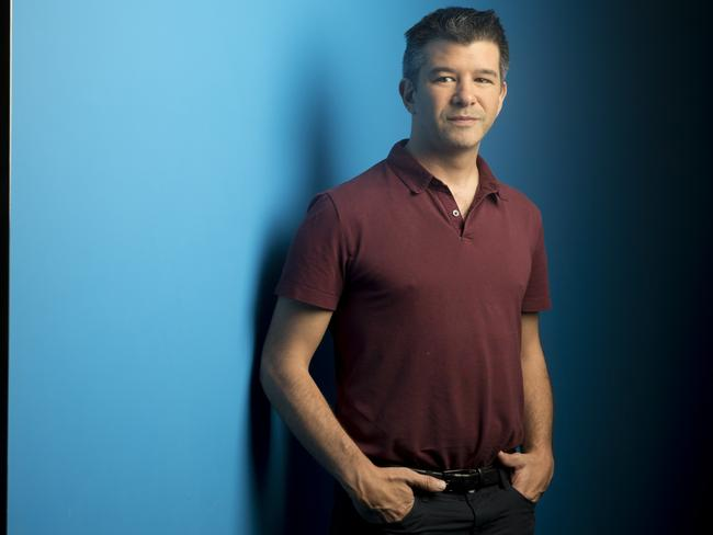Travis Kalanick, co-founder and chief executive officer of Uber Technologies Inc., has major plans for Australia. Picture: Brent Lewin / Bloomberg via Getty Images