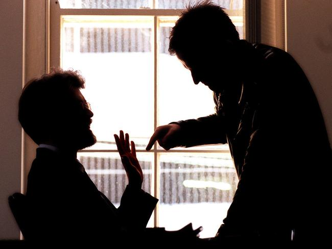 Domestic violence among gay couples is often not talked about.