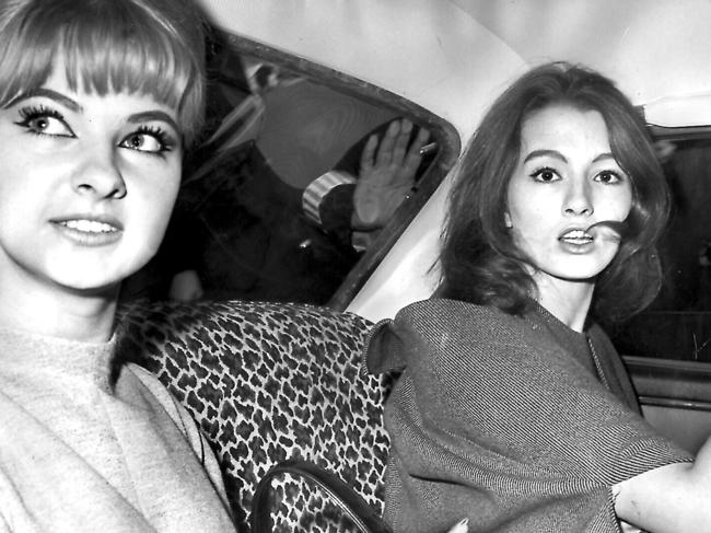 Christine Keeler & Marilyn Rice-Davies became two of the most notorious women in Britain.