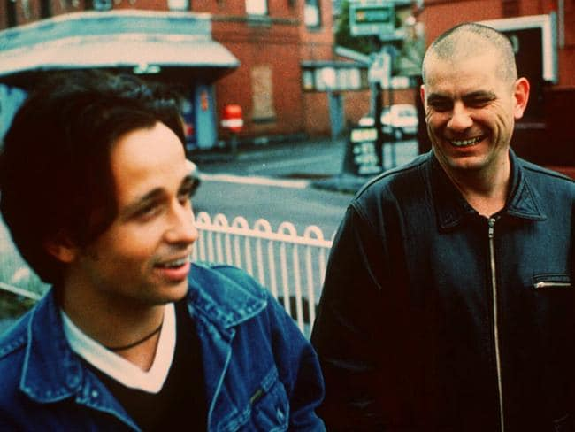 Diesel and Chris Wilson in 1996 promoting their album Short Cool Ones. Pic: supplied
