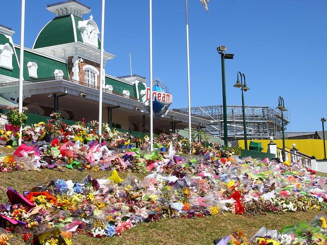 Dreamworld will not reopen until review are complete. Picture: David Clark