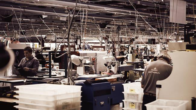 Burberry factory