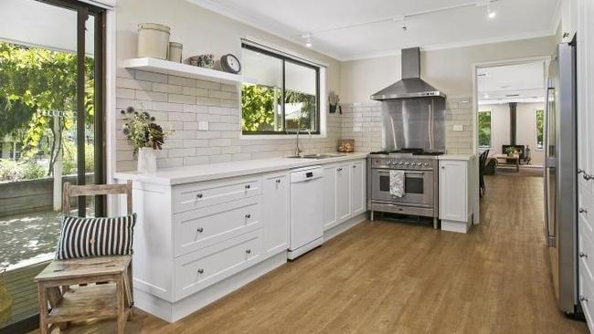 The updated kitchen.