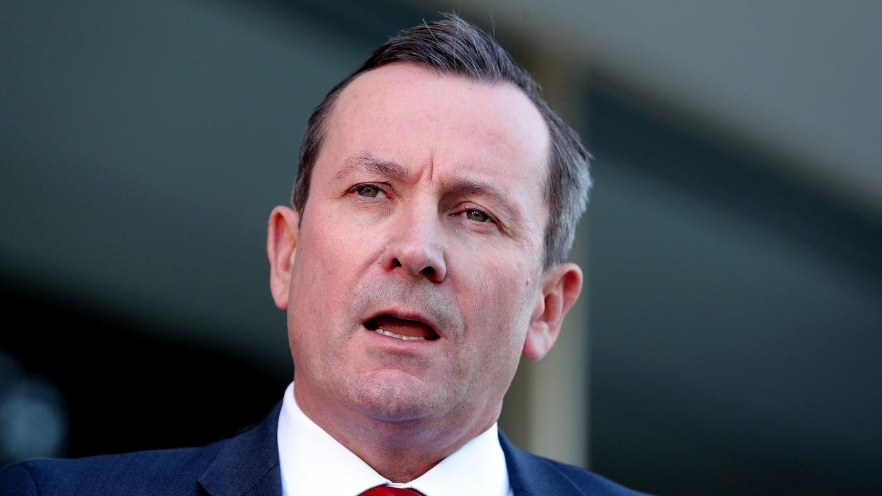 Western Australia Premier Mark McGowan. Picture: Richard Wainwright