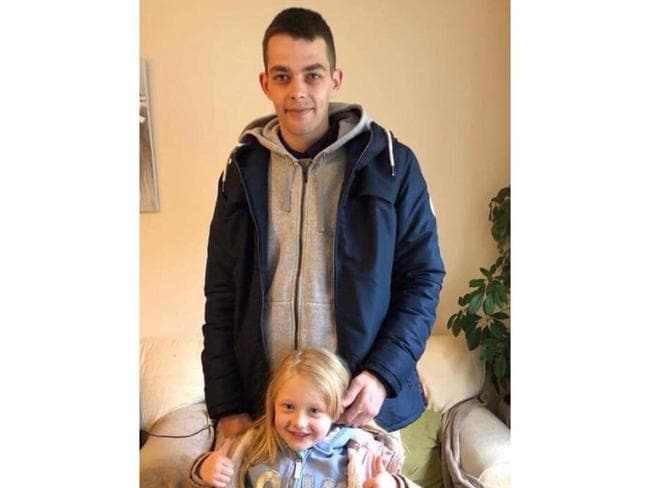 Alesha with her father Robert MacPhail. Picture: Supplied