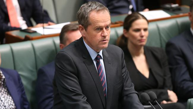 Not happy ... Opposition Leader Bill Shorten says Australia will fail the world if it proceeds with such a low emissions reduction target.