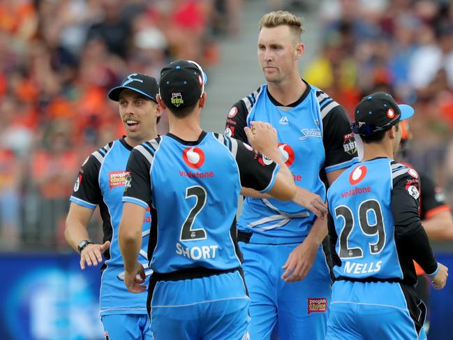Despite being hit hard by international duty, the Strikers have risen to second on the BBL ladder.