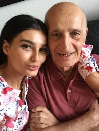 Dementia patient David Nabulsi, 82, was a resident at Bupa Aged Care Seaforth when his daughter Ayda Celine installed a hidden camera when she suspected abuse. Picture: Supplied.