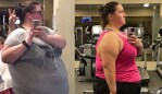 Stephanie's amazing transformation. Images: Supplied