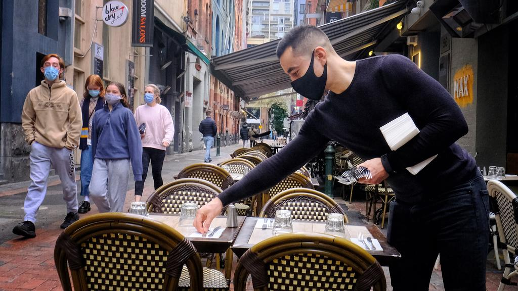 Hospitality businesses were hard-hit by lockdowns. Picture: NCA NewsWire / Luis Ascui
