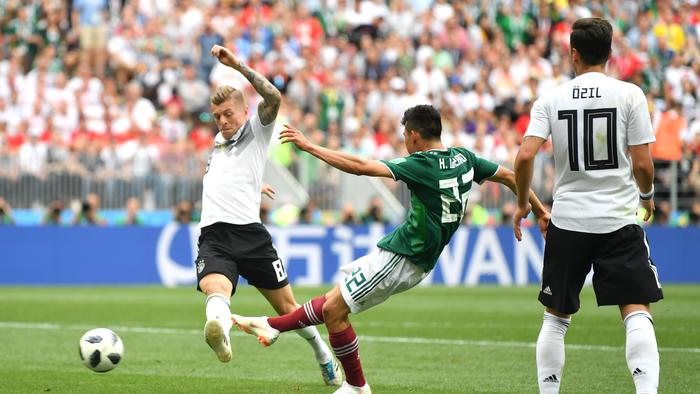 Germany v Mexico: Group F - 2018 FIFA World Cup Russia 977032712