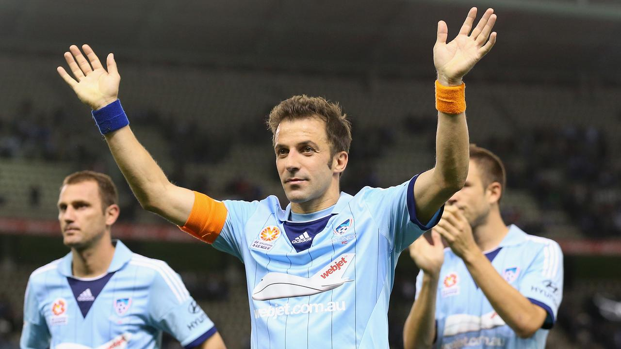 Alessandro Del Piero and Dwight Yorke added some magic to the A-League.