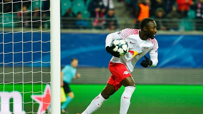 Leipzig's Guinean midfielder Naby Keita.